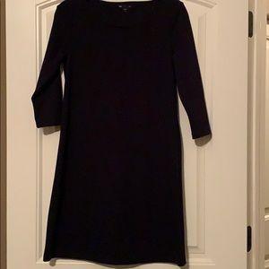 Gap navy blue shift dress